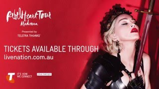 Download Madonna's 'Rebel Heart Tour' - Behind The Scenes Mp3 and Videos