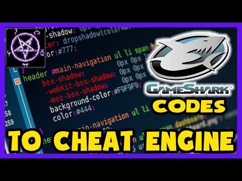 Gameshark Codes to Cheat Engine (using CreateThread) - Tutorial by PinPoint