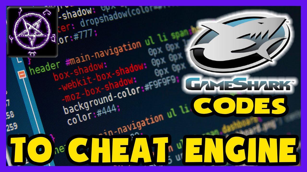 Gameshark Codes to Cheat Engine (using CreateThread) - Tutorial by PinPoint