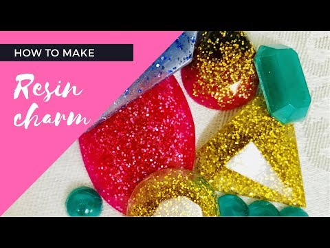 DIY basic Resin Charm for beginners | First Try