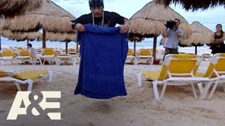 Criss Angel Mindfreak: Beach Trick 2 | A&E
