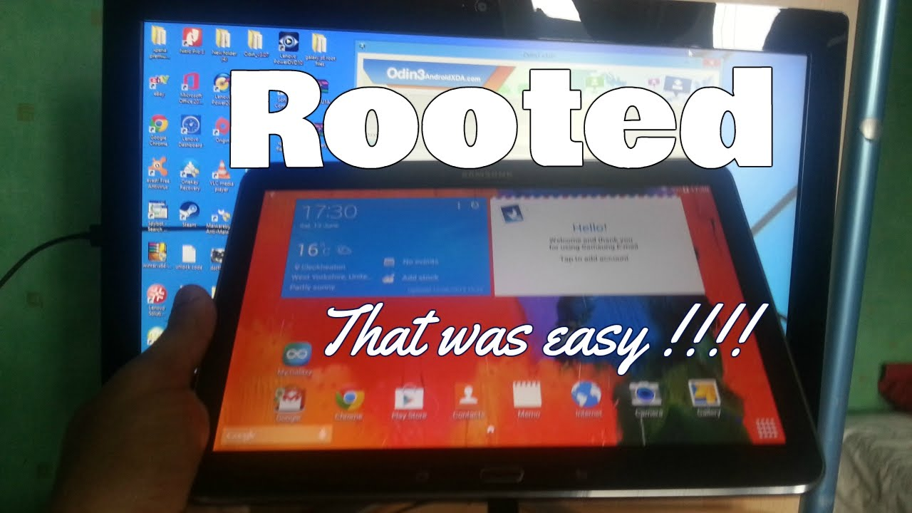 Samsung Galaxy Tab 4 10 1 T530 How To Root Very Easy Tutorial