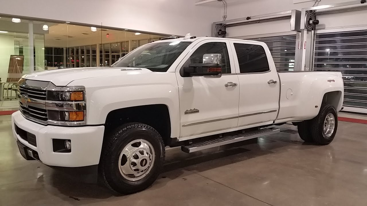 Sold 2015 5 Chevrolet High Country 3500 Crew Cab Drw