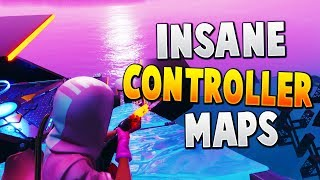 TOP 7 BEST CONTROLLER AIM & EDIT Creative Maps In Fortnite | Fortnite Controller Map CODES