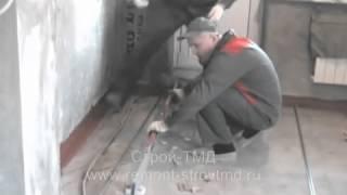Как сделать стяжку пола по маякам(Автор: Денис Телегин Смотрите ещё уроки по ремонту http://remont-stroytmd.ru http://vk.com/club67591905 Ремонт квартир своими..., 2014-04-21T19:23:44.000Z)