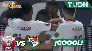 ¡BOMBAZO! Almoez Ali se escapa y no perdona   Qatar 2-1 Panamá   Copa Oro 2021   Grupo D