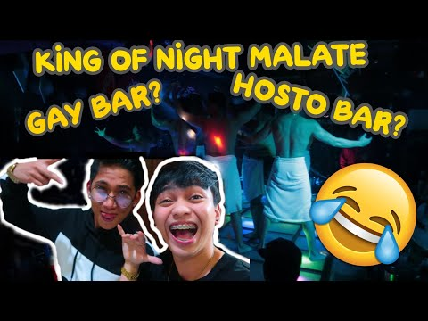 NUMBER ONE MALE'S SPOT IN MALATE ( HOSTO BAR O  GAY BAR? LAUGHTRIP! HAHAHA)