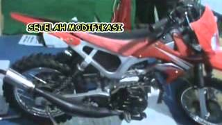 Repeat youtube video SMK N 1 SAROLANGUN PAMERAN MODIFIKASI MOTOR CROSS.flv