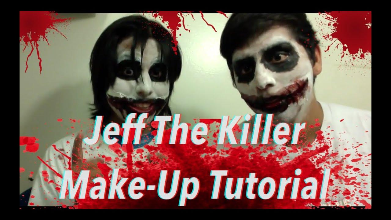 quotjeff the killerquot makeup tutorial youtube