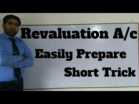 Revaluation account Class 12