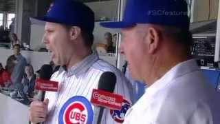 """Harry Caray and the Wrigley Field """"Take Me Out to the Ballgame"""" Seventh Inning Stretch tradition"""