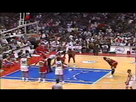 1991-92 Bulls vs. Sixers (7/8)