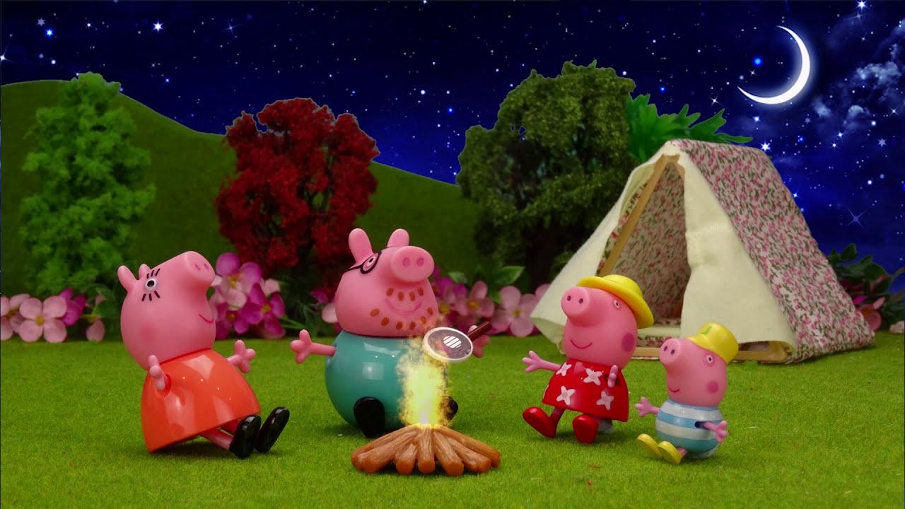 Pig Vídeos Con Peppa PigCat Hd Camping Y Juguetes Caravana De La 48 Van 04 Se George l3Kuc51JTF