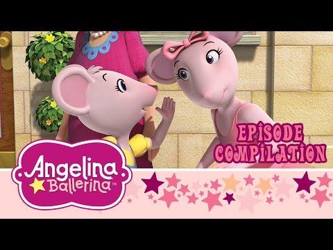 Angelina Ballerina – Full Episode Compilation - Henry's Halloween & Anya's Visit (25 Minutes)