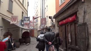 Влог  Средневековая Рига и улица где жил наш Шерлок Холмс  Ч