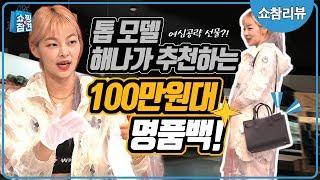 [쇼참리뷰]톱모델의 100만원대 명품백 추천[쇼핑의 참…