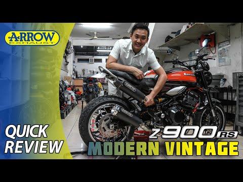 Arrow Exhaust: Kawasaki Z900RS | Modern Vintage of 21st Century