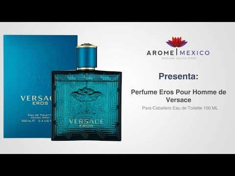 Ml Pour 100 Versace Eros Homme Hombre Perfume De Para Edt bIYfy76gv