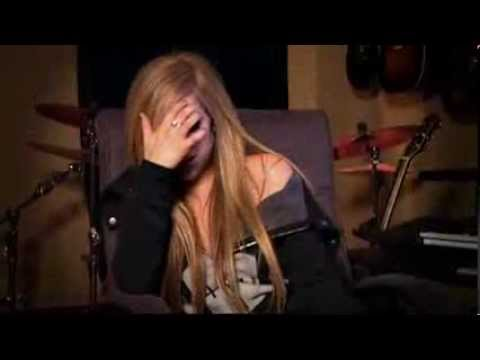 Avril Lavigne - Making Of Goodbye Lullaby Part1
