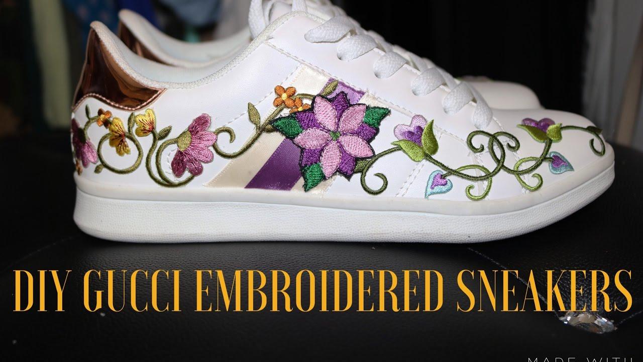 DIY Gucci Sneakers $30 - YouTube