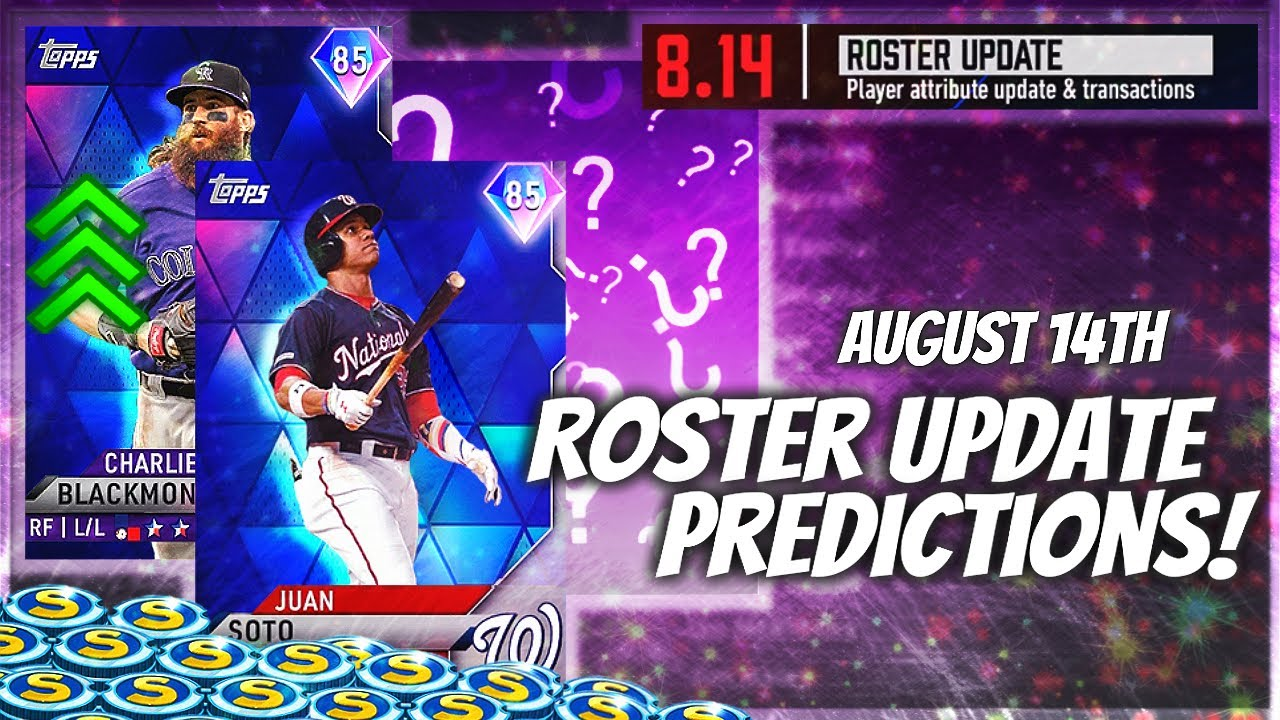 August 14th Roster Update Predictions! At LEAST 2 NEW Diamond Upgrades! MLB The Show 20