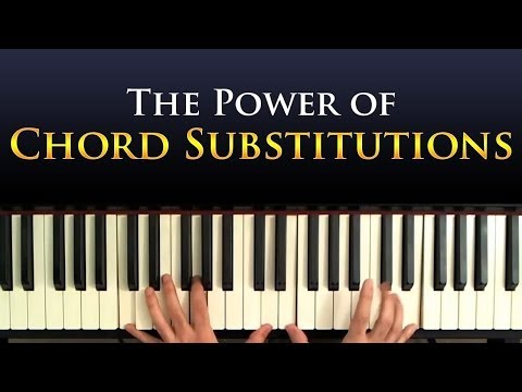 Jazz Piano Harmony: Chord Substitutions  A Tutorial