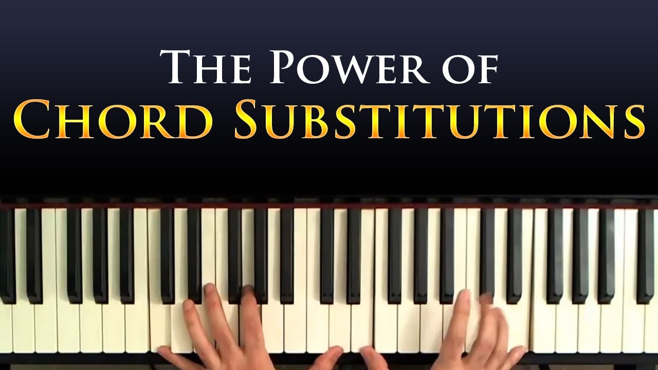 Jazz Piano Harmony: Chord Substitutions - A Tutorial - YouTube