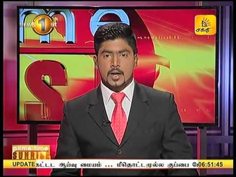 News1st Prime Time News Sunrise Shakthi TV 18th April 2017