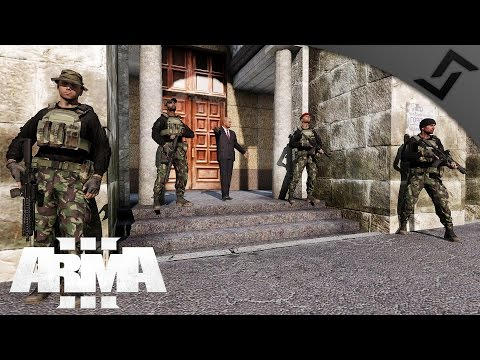 Protecting the VIP - ARMA 3 - Small Team/Scale Gameplay