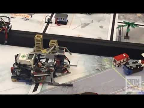 Pupils from Conners Emerson School in Bar Harbor win at Lego robotics competition