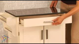 Home Styles Design Your Own Kitchen Cart - Product Review Video