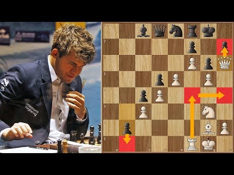 Best Move of The Match | Anand vs Carlsen 2013. | Game 9