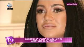 Teo Show (18.01.2019) - Carmen de la Salciua, partea ei de adevar in divortul cu scandal!