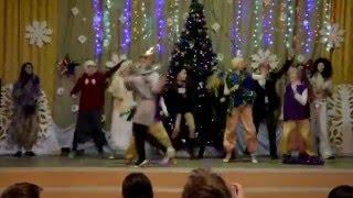 """6 """"Б"""" взорвал зал на новогоднем конкурсе """"Точь в точь"""" и стал победителем. Дубровно Средняя школа №1"""