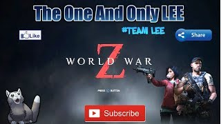PS4- WORLD WAR Z CO-OP CAMPAIGN