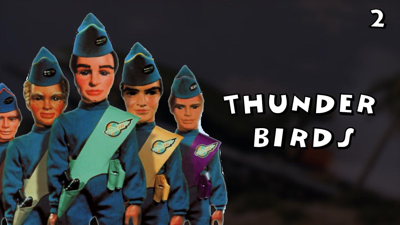 Thunderbirds Em Acao Series E Desenhos Antigos Youtube