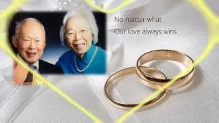 Our Wedding Rings - for Mr and Mrs Lee Kuan Yew