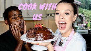 UNREAL CHOCOLATE CAKE - COOK WITH US | Madison Sarah