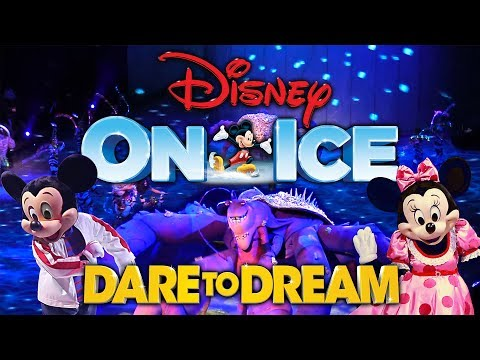 Disney On Ice Dare To Dream Show Highlights!