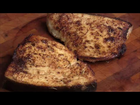 Pan Seared Swordfish Steaks With Mixed Seasoning