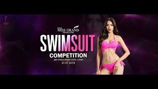 Miss Grand Thailand 2019 - Swimsuit Comppetition