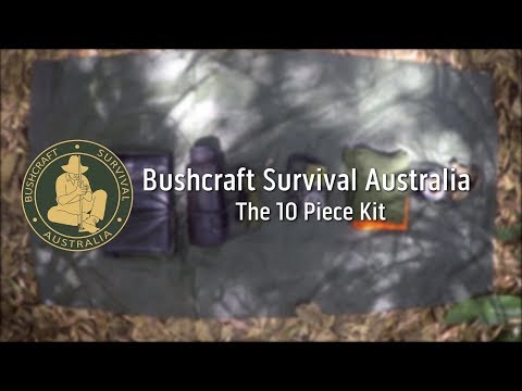 Bushcraft Survival Australia - The 10 Piece Kit