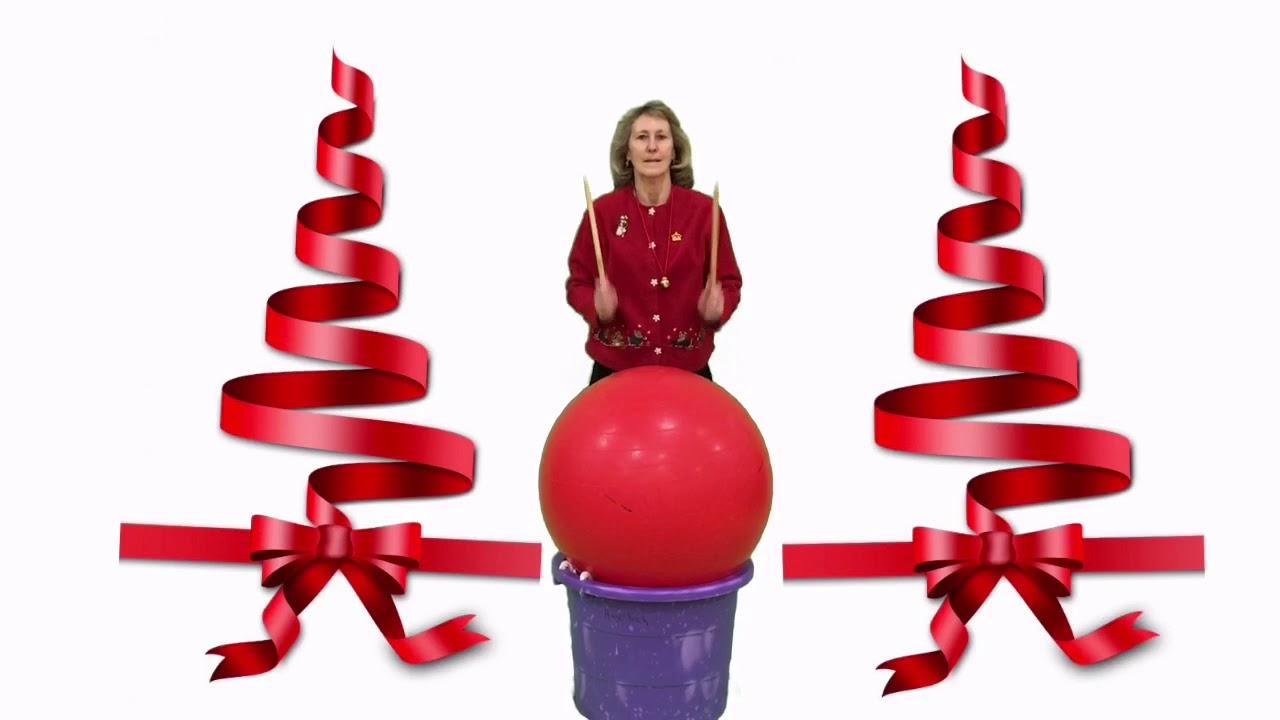 Cardio Drumming Rocking Around The Christmas Tree - YouTube