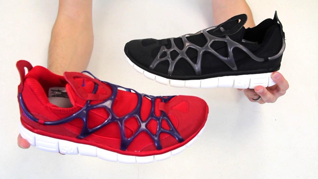 d6ebc66c6910fe Geekery View - Spiderman Shoes - Nike Kukini - YouTube