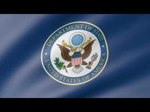 United States Department of State Animated Flag