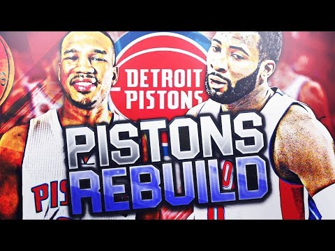 DETROIT PISTONS REBUILD!! NBA 2K18 MY LEAGUE