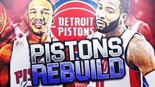 DETROIT PISTONS REBUILD!! NBA 2K18 MY LEAGUE
