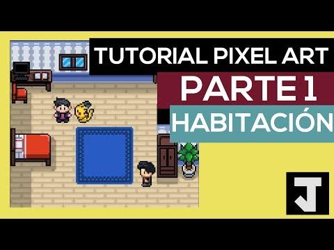 Pixel Art Tutorial Español: Como Hacer Tiles Para Videojuegos Estilo Pokemon [Parte 1] thumbnail