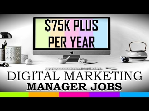 Digital Marketing Manager Jobs YOU Can Qualify For Within ONE Month Of Training