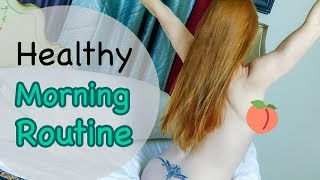 Download Video My Healthy Morning Routine | Yoga, Vegan Breakfast - Ruby Day MP3 3GP MP4